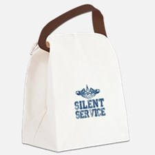Silent Service with Submarine Dolphins Canvas Lunc