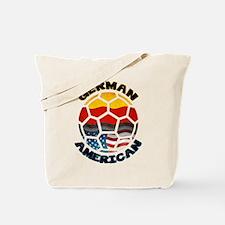 German American Football Soccer Tote Bag