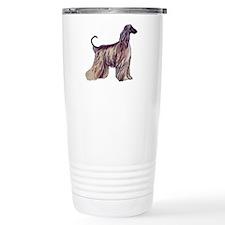 Afghan Silhouette Travel Coffee Mug