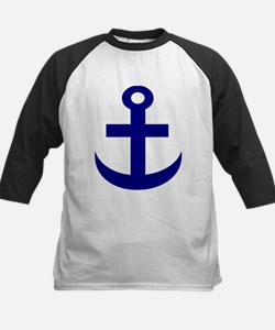 Anchor or Mariners Cross Blue Tee