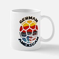 German American Football Soccer Mug