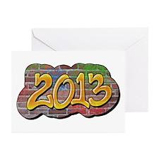 2013 Graffiti Greeting Cards (Pk of 20)