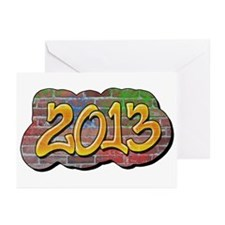 2013 Graffiti Greeting Cards (Pk of 10)