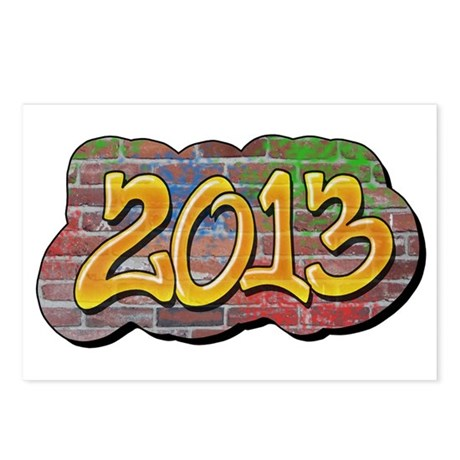 2013 Graffiti Postcards (Package of 8)