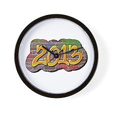 2013 Graffiti Wall Clock