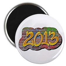 "2013 Graffiti 2.25"" Magnet (10 pack)"