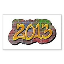 2013 Graffiti Decal
