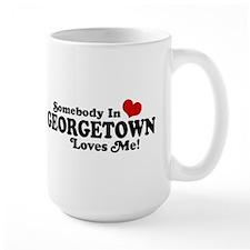 Somebody in Georgetown Loves Me Mug