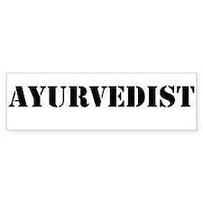 Ayurvedist Bumper Sticker