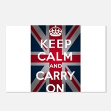 Keep Calm And Carry On Postcards (Package of 8)