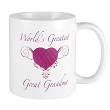 Heart_GreatGrandma Mugs