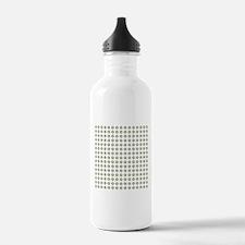 Geo Mod Green Water Bottle