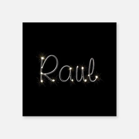 "Raul Spark Square Sticker 3"" x 3"""
