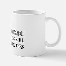 Cornhole Humor Mug