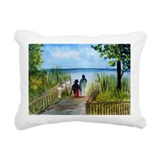 Hand in Hand Rectangular Canvas Pillow