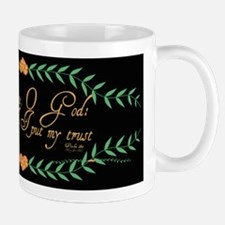Psalm 16 1 Green Vines Mug