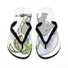 Elephant rub Flip Flops