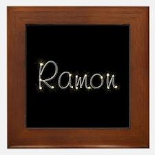 Ramon Spark Framed Tile