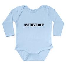 Ayurvedic Long Sleeve Infant Bodysuit