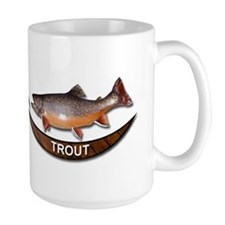 Large Brook Trout Mug