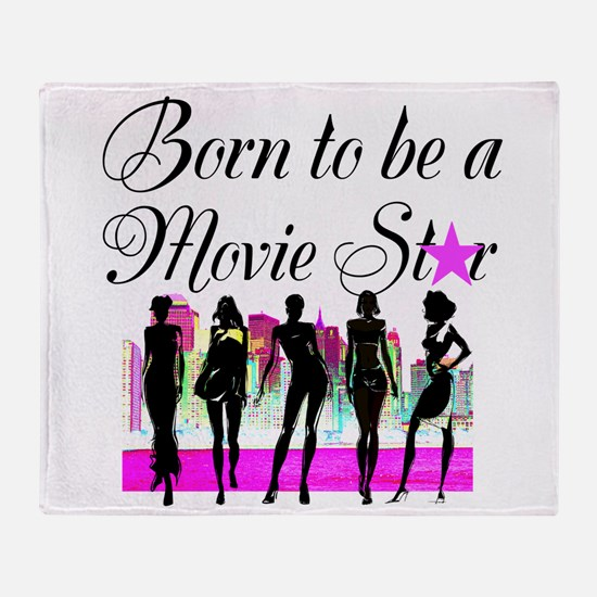 MOVIE STAR Throw Blanket