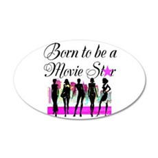 MOVIE STAR Wall Decal