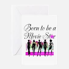 MOVIE STAR Greeting Card