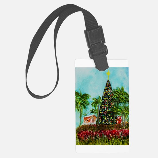 100 ft Christmas Tree Luggage Tag