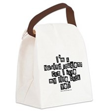 Life Back Yet? Canvas Lunch Bag