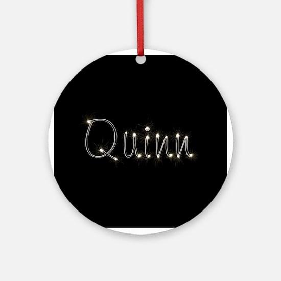Quinn Spark Ornament (Round)