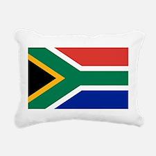 Flag of South Africa Rectangular Canvas Pillow