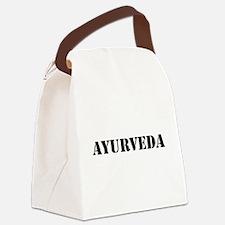 Ayurveda Canvas Lunch Bag