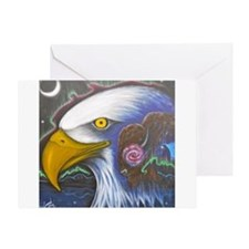 Watch Over Us Greeting Card