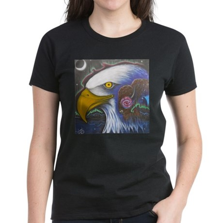 Watch Over Us Women's Dark T-Shirt
