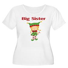 Elf Big Sister Women's Plus Size T-shirt
