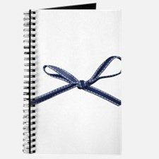Navy Blue Bow Journal