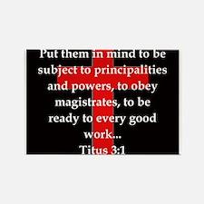 Titus 3:1 Magnets