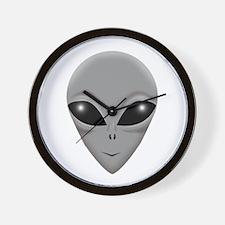 alien copy.png Wall Clock