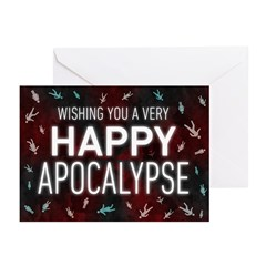 Happy Apocalypse Greeting Cards (Pack of 20)