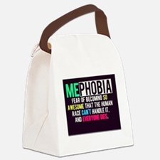 Mephobia Canvas Lunch Bag