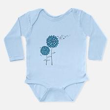 Wishing Weeds Long Sleeve Infant Bodysuit