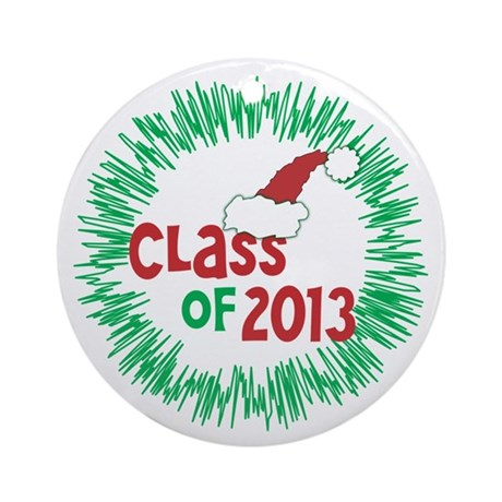 Class of 2013 Christmas Ornament (Round)