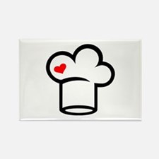 Chef hat cook Rectangle Magnet (100 pack)