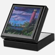 Jupiter Lighthouse Keepsake Box