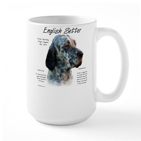 English Setter Large Mug