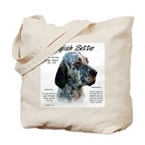 English setter Totes & Shopping Bags