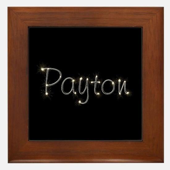 Payton Spark Framed Tile