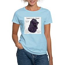 Black English Cocker Spaniel T-Shirt