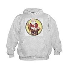 Santa & Baby Jesus Hoodie