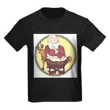 Santa & Baby Jesus T